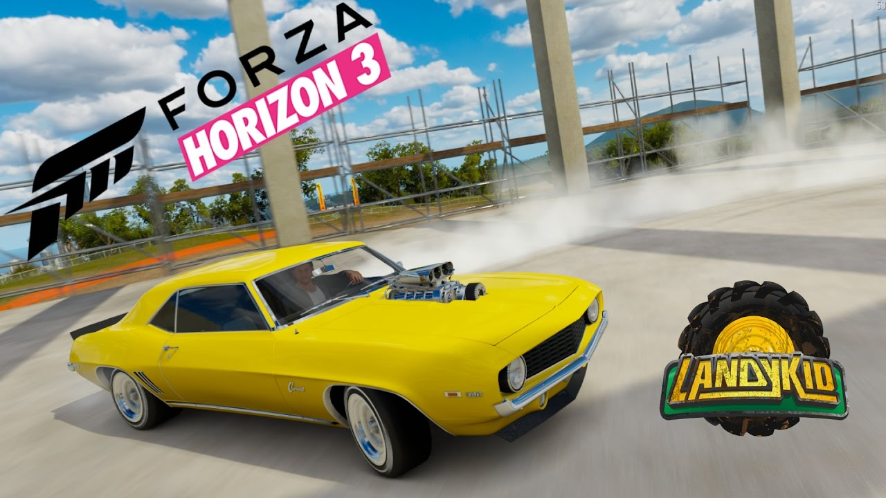 Forza Horizon Bringing Out The Muscle Cars Youtube