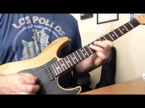 Styx - Renegade Guitar Solo Cover Using Kemper  Profiler With Top Jimi VH Profile