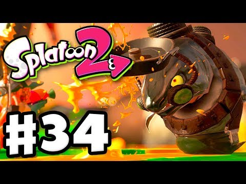 Splatoon 2 - Gameplay Walkthrough Part 34 - Salmon Run! (Nintendo Switch)