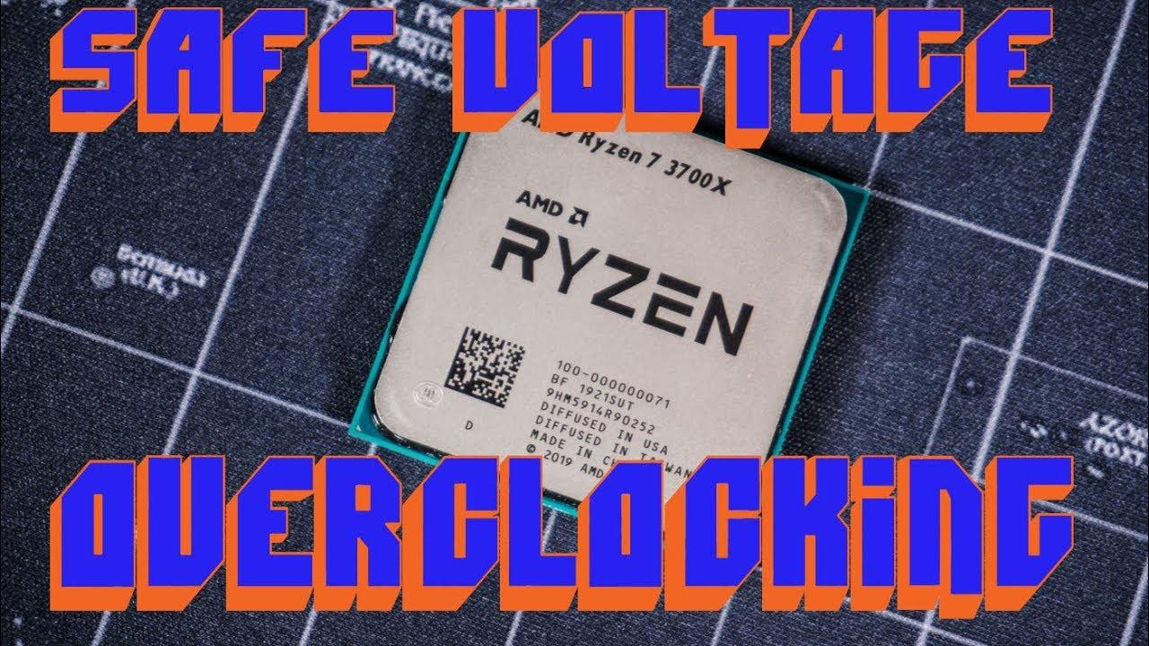 Safe voltage for Overclocking Zen 2 - Ryzen 3800x