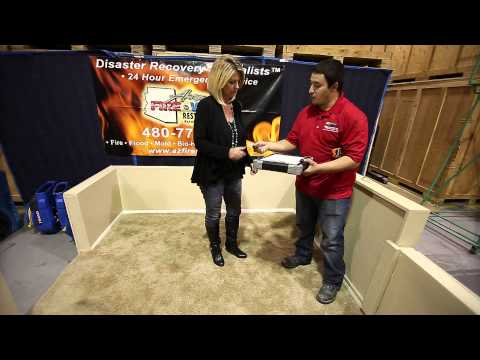 AZ Fire and Water Restoration - Water Mitigation Process