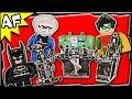 Lego Batman BATCAVE: Penguin and Mr. Freeze's Invasion 7783 DC Comics Super Heroes Build Review