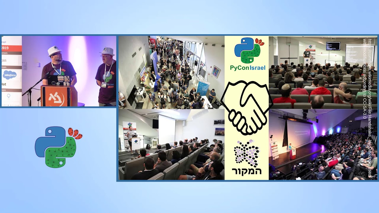 Image from Opening session - PyCon Israel 2019
