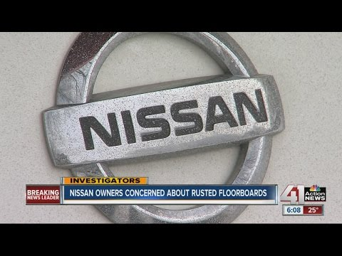 Following investigation, Nissan owners share safety concerns about rusted holes in floorboards