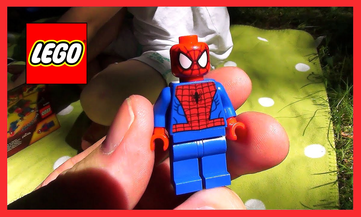 Lego Spiderman Spider Trike Vs Electro 76014 Pl Youtube