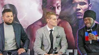 * HEATED *Joe Joyce vs. Bermane Stiverne FINAL PRESS CONFERENCE  |  Eubank v DeGale Undercard