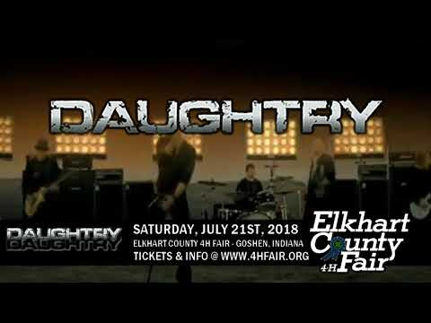Elkhart County 4-H Fair - Daughtry - 2018 Ad