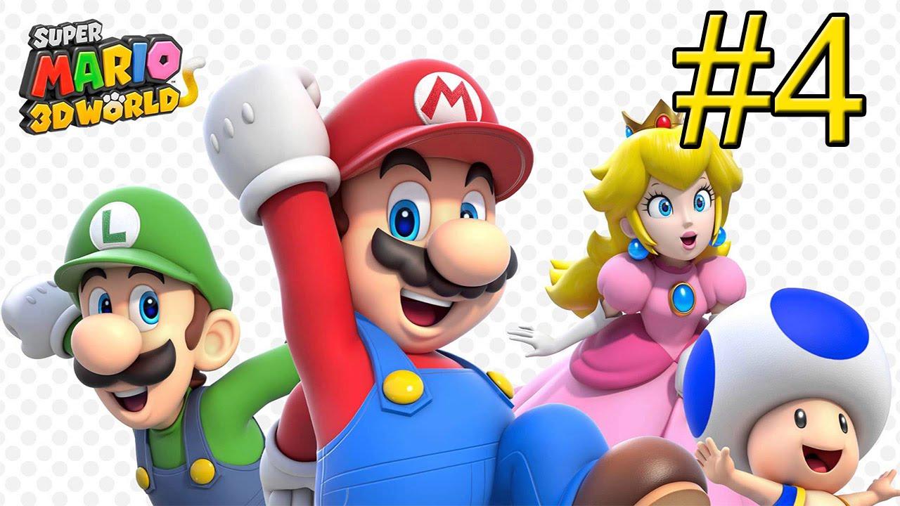 Марио в Клонах 4 Марио Super Piece Мир Wii 3d | играть в супер марио путешествие на драконе