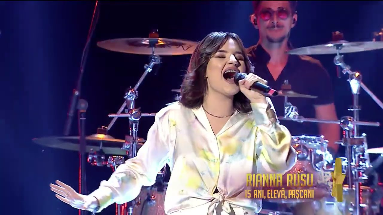 Românii au talent 2021: Semifinala 1 (prestație) – Rianna Rusu – solist vocal