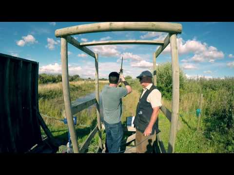 Clay Pigeon Shooting at Park Lodge 5 August 2017