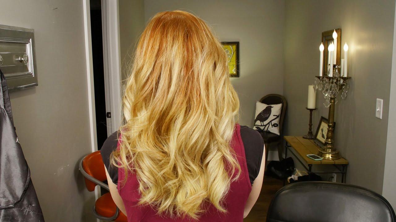 Olaplex 2 Color Balayage Womens Hair Color Youtube