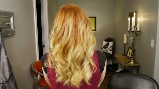 Olaplex 2 color Balayage // Womens Hair Color