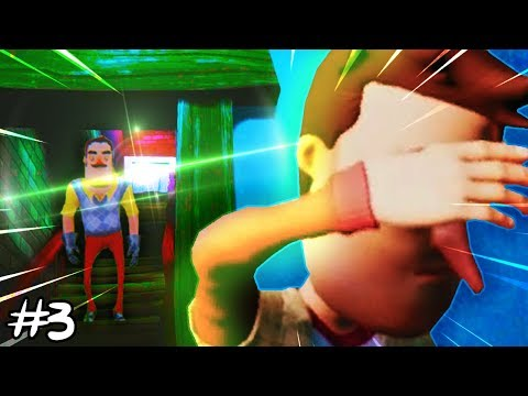 DE KELDER VAN DE BUURMAN!! (Hello Neighbor - ACT 3)