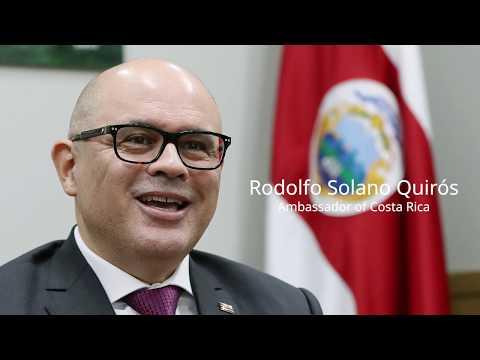 Interview with Rodolfo Solano Quirós, Ambassador of Costa Rica