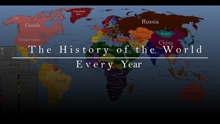 The History of the World: Every Year Video