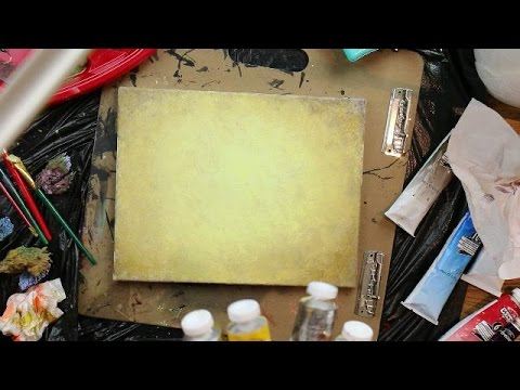how to paint a rustic light brown background youtube. Black Bedroom Furniture Sets. Home Design Ideas