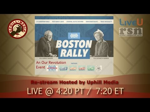 Bernie Sanders & Elizabeth Warren Conversation in Boston - March 31st, 2017