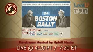 Bernie Sanders & Elizabeth Warren Conversation in Boston - March 31st, 2017