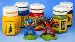 Retro unboxing: 1994 Citadel Colour Paint Set - SEALED!