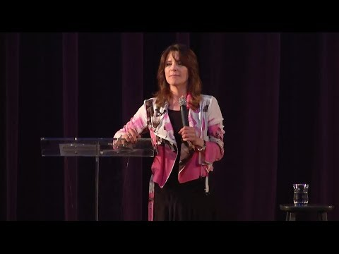 Marianne Williamson speaks at her Pre-Election Rally on 5/19/14
