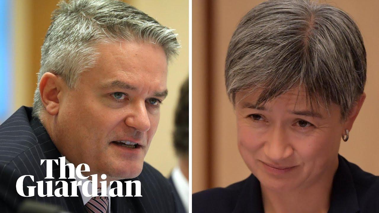 Labor senators grill Mathias Cormann over travel bookings: 'It's an odd arrangement'