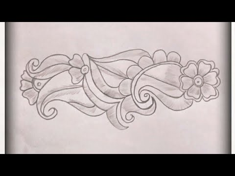 How To Draw Henna Designs On Paper Step By Step Easy Mehndi