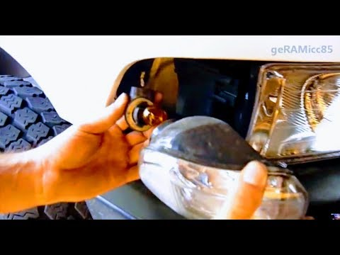 How To Replace Turn Signal Bulb Dodge Ram Front Corner
