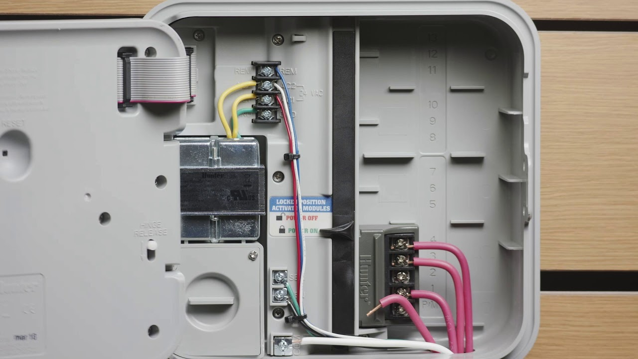 hunter pump start relay wiring diagram [ 1280 x 720 Pixel ]