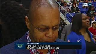 Fred Williams talks about how to stop Brittany Griner