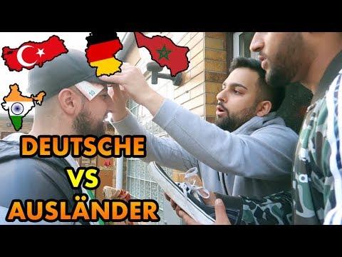 DEUTSCHE VS AUSLÄNDER !!