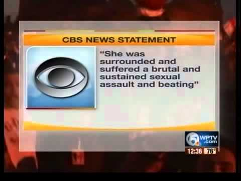 Woman CBS Reporter Attacked In Egypt