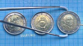 2 euro 2012 Italy 3 eurocoins