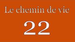 Le chemin de vie 22 par numérologue conseils #numerologie #chemin22 #nombremaitre22