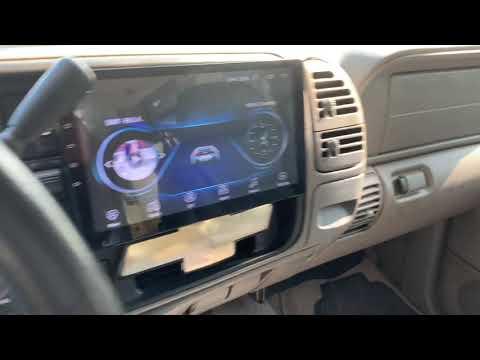 Android 10.1 Inch Stereo Installation 99 Tahoe , Yukon , Suburban 94 95 96 97 98