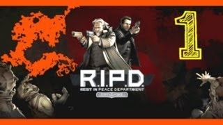 R.I.P.D. The Game Single Player - part 1 W/Commentary