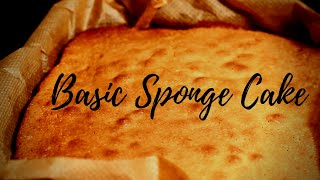 Basic Sponge Cake Base Recipe | Recipe By Chef Ricardo How To Make The World Best  Sponge Cake !!
