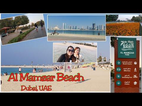 Al Mamzar Beach Dubai,UAE