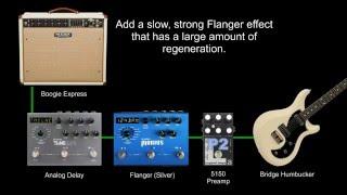 FX Recipe: Eddie Van Halen Flanger Guitar Effect (Ain't Talkin' 'Bout Love)
