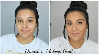 Full Face Using My FAVORITE Drugsore/ Affordable Products   Drugstore Makeup Starter Kit