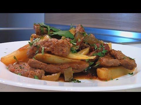 Азу из свинины - кулинарный рецепт