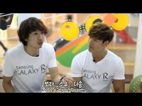 [Eng On-screen Titles ONLY] Running Man x Samsung Galaxy R Style CF HD