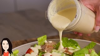 Best Caesar Salad Dressing Recipe Ever - You Won't Believe it's Vegan!