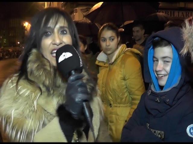 Los Reyes Magos llegan a Torrelavega a pesar de la lluvia