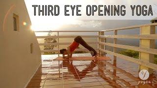 """Third Eye"" Opening Yoga Routine: Inner Truth (open level)"