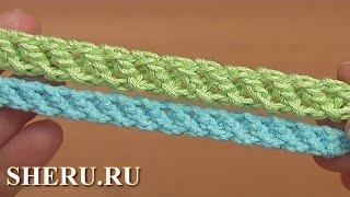 Нежный шнур гусеничка крючком Урок 97 Crochet Cord How to