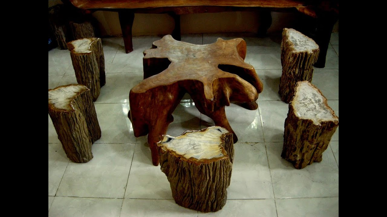 Teak Root Furniture for sale - YouTube