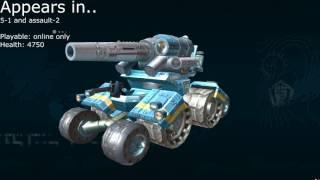 Battalion Wars 2 Unit Dossier - Xylvania