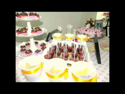 Decoração  de Festa - Vintage - Provençal - Clean - Casamento - 15 anos - Jantar - Debutante.mp4