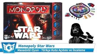 Monopoly Star Wars | Kutu Açılımı ve İnceleme | Türkçe | Masaüstü / Kutulu Oyun (Board Game)