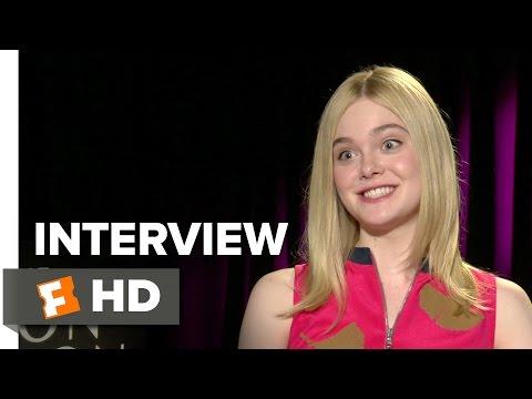 The Neon Demon Interview - Elle Fanning (2016) - Horror Movie HD
